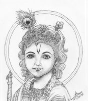 Little Krishna by nairarun15