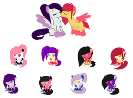 Inky Breeding Babies - CLOSED by SweetKorruption