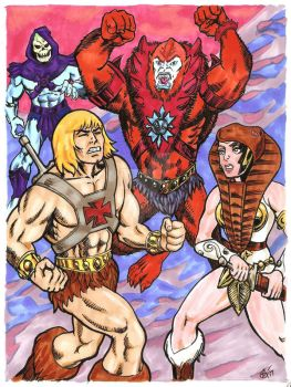 Masters of the Universe by The-Savage-Ape-Man