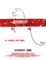 animal farm mock movie poster by cleanup