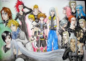 Kingdom Hearts - For Kamis by dubiousicicle
