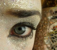 Horus Glitter Eye Stock IV by Melyssah6-Stock