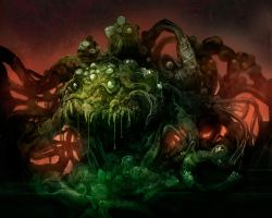 Shoggoth by carloscara