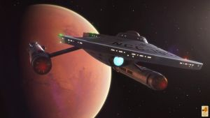 USS Ares NCC-1650 by thefirstfleet