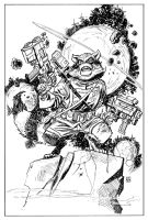 Rocket Raccoon by deankotz