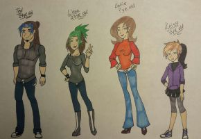New characters from Melli's story by Akumi123456788