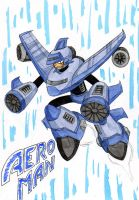 Dwn No.90: Aero Man by GarthTheDestroyer
