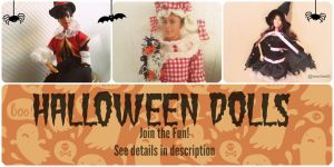 Halloween Dolls - What is your costume of choice? by merineiti