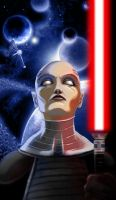 Asajj Ventress by lifebytes