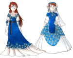 Similar Gowns I by ironychan