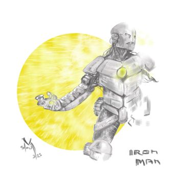 Ironman by middleclasscyborg