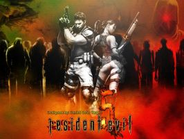 resident evil 5 tribute by Siegfried129