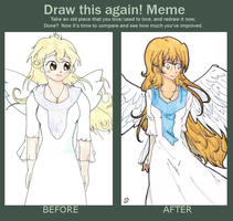 Draw this again! Meme by Neridy