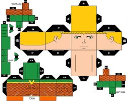 CubeeCraft Aquaman Classic DC Super Heroes by handita2006
