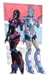 TFPrime: Moonbeam and Laura by Israel42