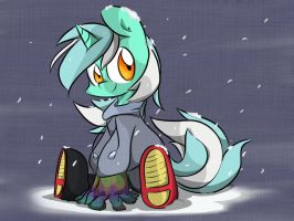 Lyra in Winter Wear by MeloDenesa