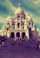 Summers in Montmartre by Aj07