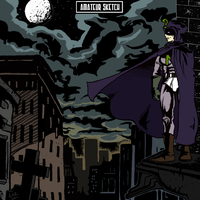 Mysterion - Amateur Sketch by TheDeathGirl