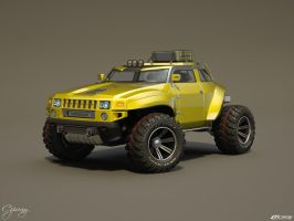 Hummer HB concept 23 by cipriany