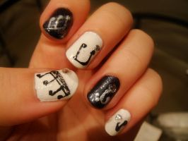 Nail Art 032 by MelodicInterval
