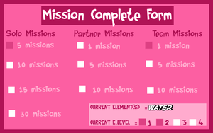 .:*HSV - Benkei's Mission Sheet (Water Release)*:. by dreamchaser21
