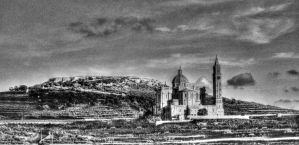 Ta' Pinu Church in Gozo by abelamario