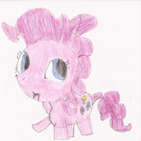 Chibi Pinkie Pie Drawing by SoraJayhawk77