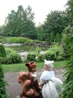 Vulpix and Ninetales Cosplay Shooting 5 by Shonen-Ai-Freak94