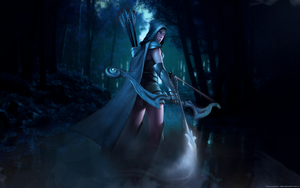 Dota2 Drowranger by 2befine