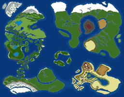 World Map v2 by RaZziraZzi