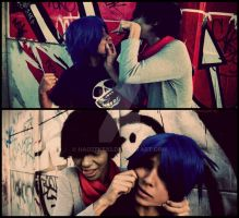 Gorillaz Cosplay- Leader of the band by haozeke93