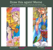 Meme: Before and After OwO by Goay