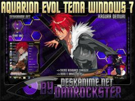 Kagura Demuri Theme Windows 7 by Danrockster