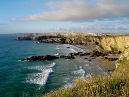 View from Newquay by Purpleamethyst45