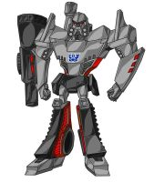 TF: Animated Megatron colored by AlmightyRayzilla