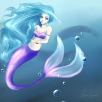 A Tail In The Sea by Luisabel123