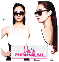 Yuri Photopack #10 by AlleakiMikaela