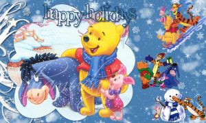 winnie the pooh's christmas by damnitztham