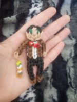 rainbowloom 11th Doctor with sonic screwdriver by AzulArtist1027