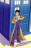 The Tenth Doctor by Crazyskull