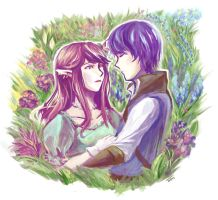 come to my garden by Timidemerald