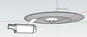 unfinished ENT on sketchup by zuzuKH