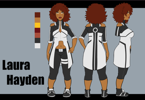 Laura Ref Sheet by AvernalAscent