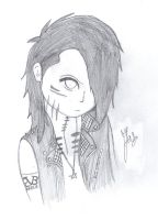 Ashley Purdy As An Anime Character by sunnychina12