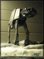 Imperial AT-AT Revell model by Enterprise-E
