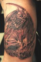 Angel of Death Tattoo by Reklaw280