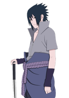 Naruto 408: Sasuke colored by Naruto-lover16