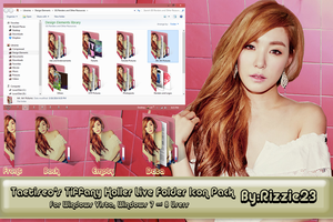 Taetiseo's Tiffany Holler Live Folder Icon Pack by Rizzie23