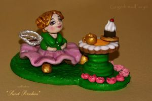 Fairy. Sweet Porcelain by GingerbreadFairy