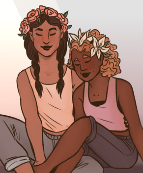 Flower Crowns by MoyoNyt